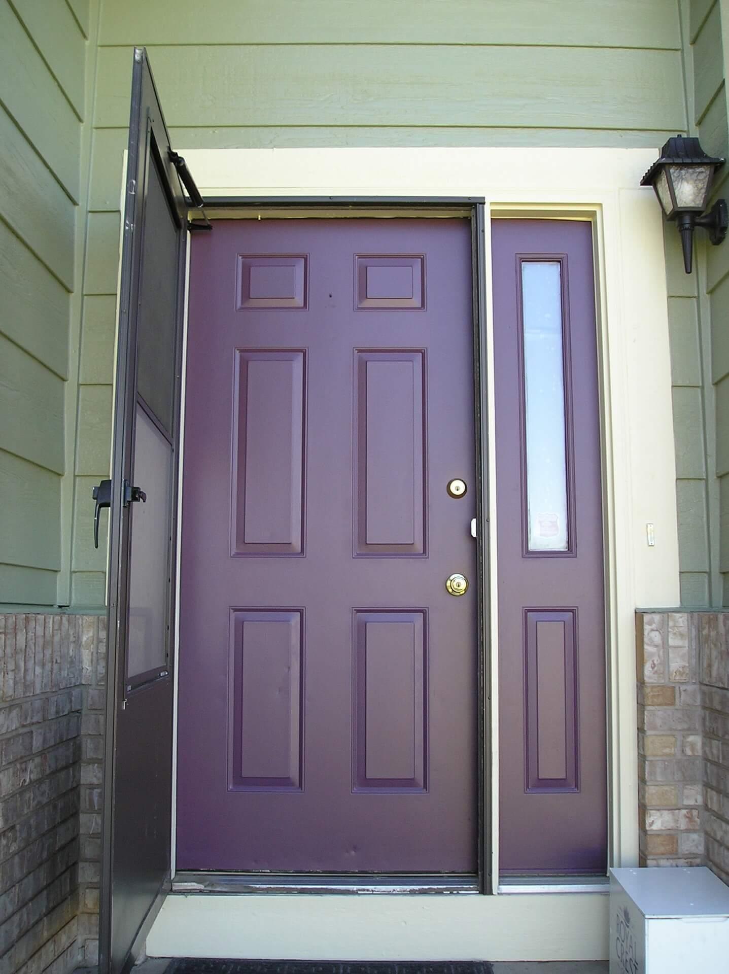 After - Front Door