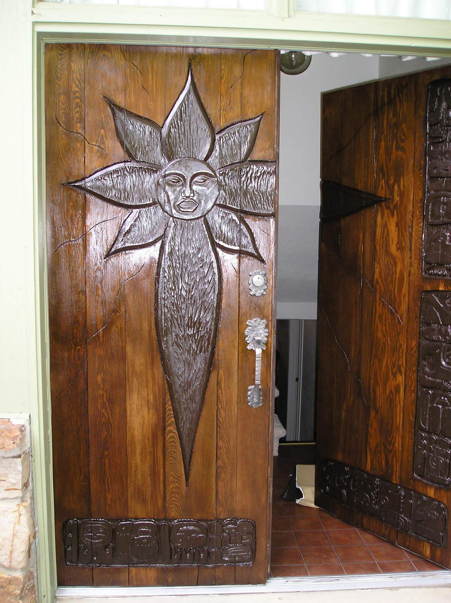 Custom Exterior Wood Front Door