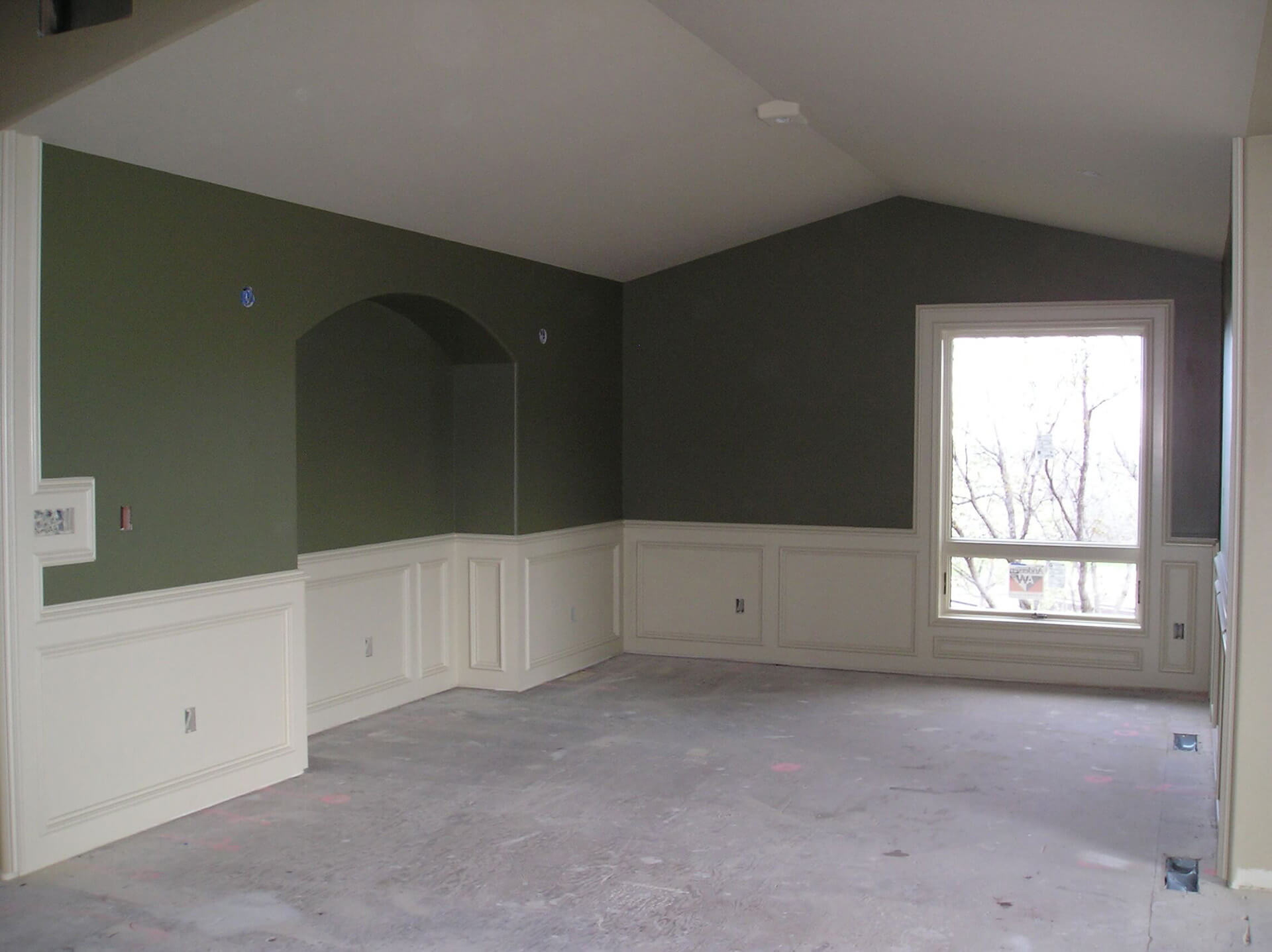 Painted Dining Room