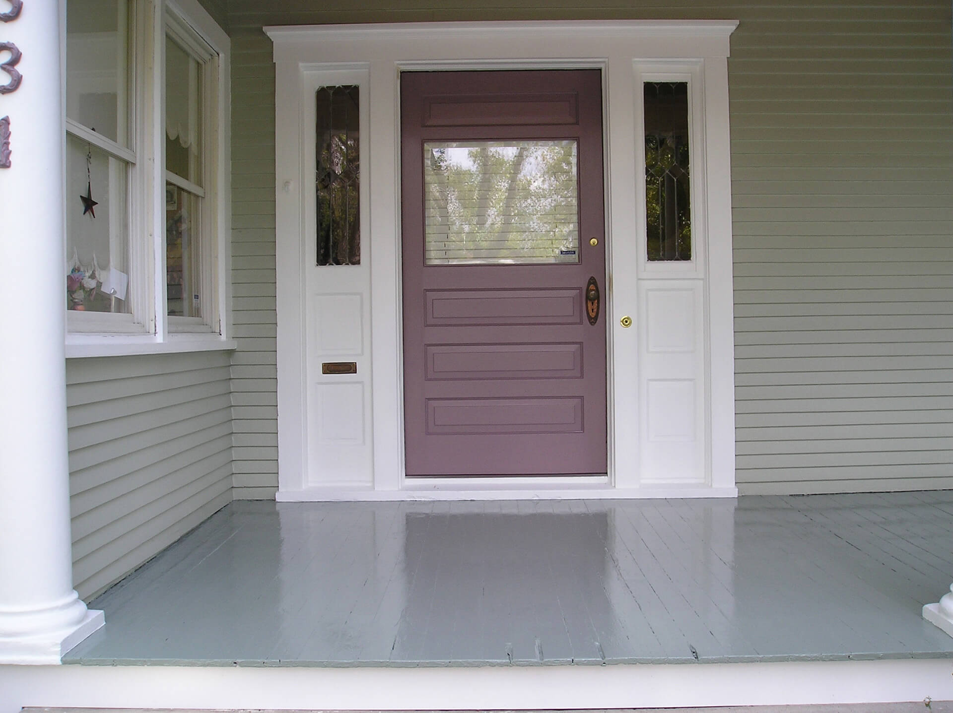 Front Door Painting Finest Paint Colors With