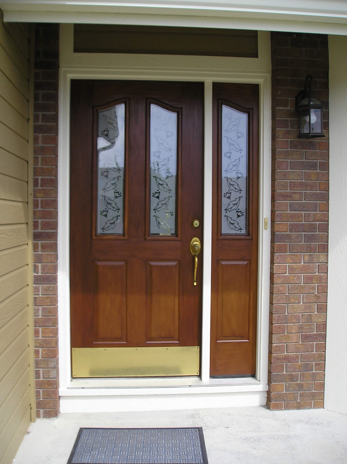 Painted Front Doors Fiberglass : Front door photo gallery « crowder painting
